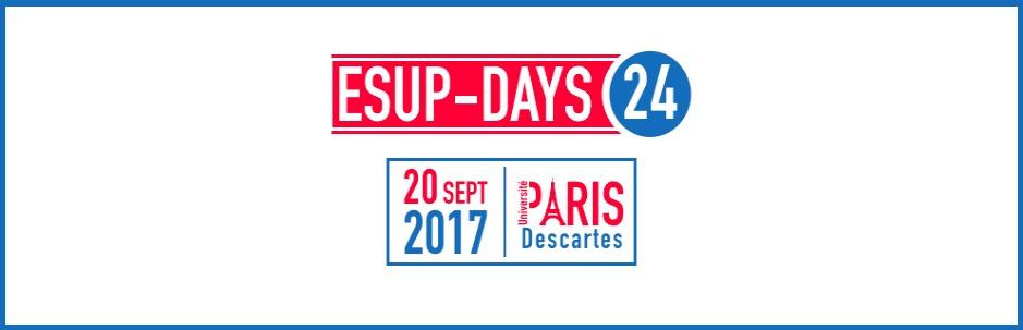 RDV aux ESUPDays #24 à Paris