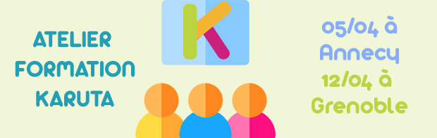A vos agendas : ateliers Karuta de printemps !