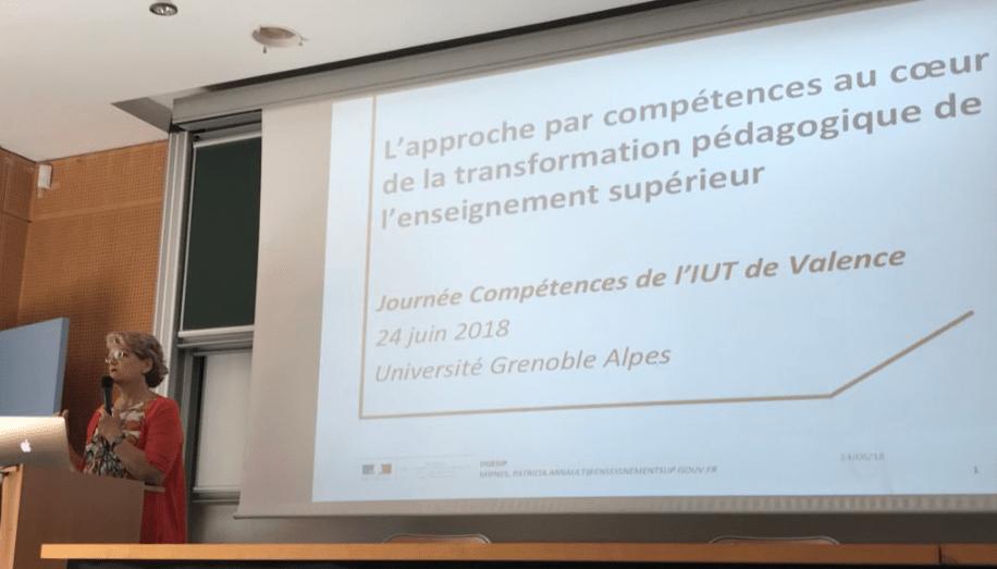 Présentation par Patricia Arnault experte pour le Ministère en APC