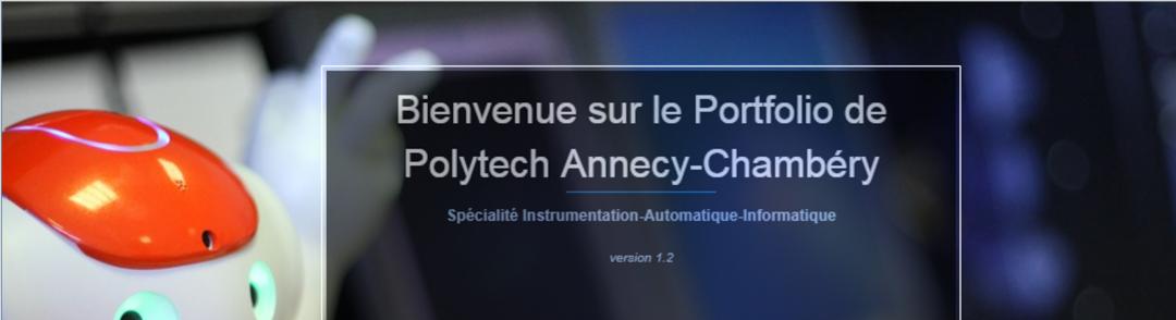 ePortfolio de Polytech Annecy-Chambéry (USMB)