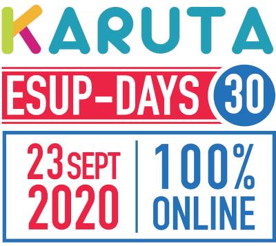 RDV en ligne : ESUP-DAYS #30 le 23 septembre 2020 !